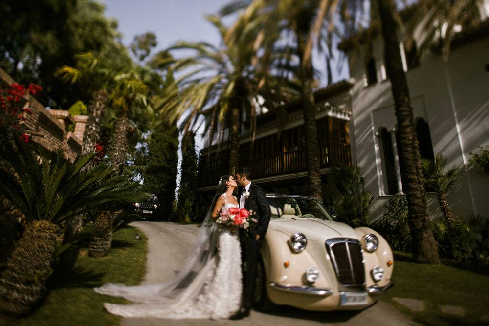 Wedding in Malaga, Marabella wedding venue