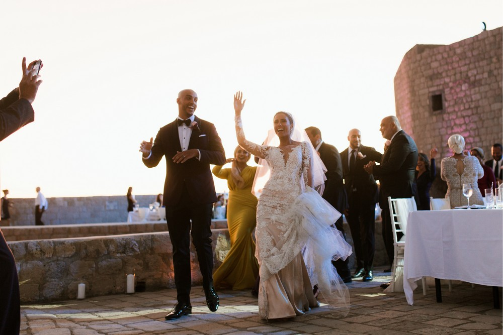 Croatia weddings at Fort Lovrijenac