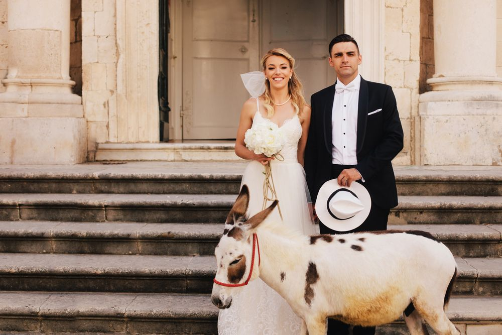 luxury destination wedding in dubrovnik by DTstudio Alyssa Davor