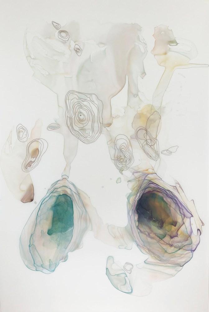 Kariann Fuqua, Stranded, 2019, mixed media artwork, studioELL FLATFILE