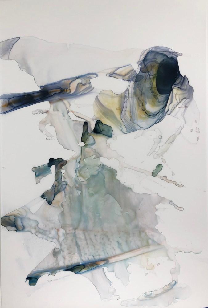 Kariann Fuqua, The Aftermath, 2019, mixed media artwork, studioELL FLATFILE