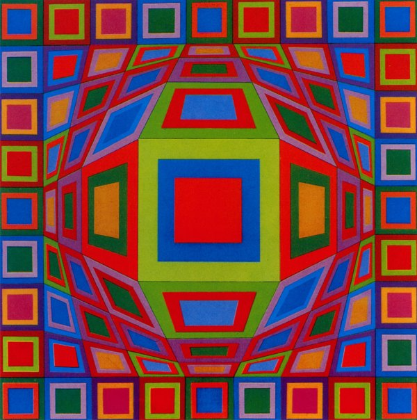 Victor Vasarely - Studio F22 Modern Art