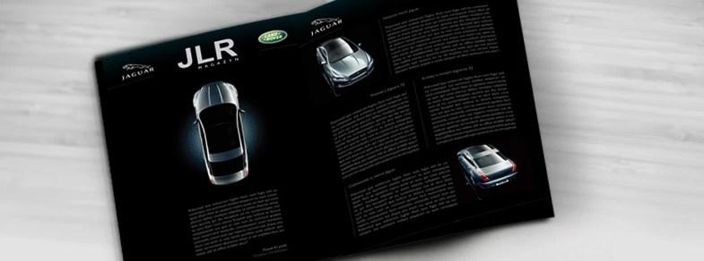 projekt katalogu reklamowego JLR