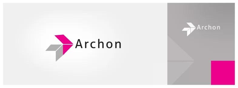 projekt logo firmy Archon