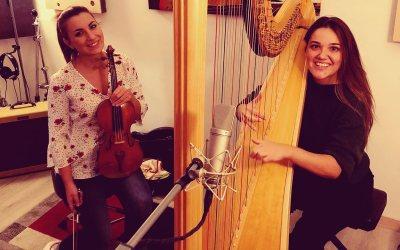 """On line Il primo brano di Susanna Curci """"Paola"""" Arpa e Violino"""
