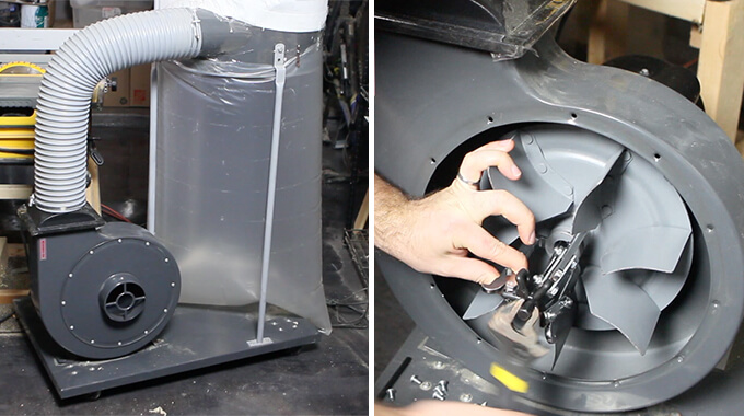 Harbor Freight 2hp Dust Collector Modifications