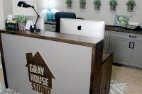 Two-Level Desk Plans | Gray House Studio