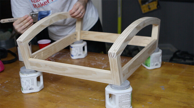 building a rocking chair wingback chairs for sale base build gray house studio