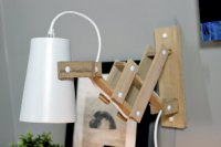 DIY Wooden Wall Sconce | Gray House Studio