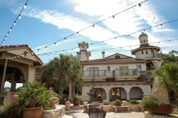 Our venue in daylight, Villa Antonia