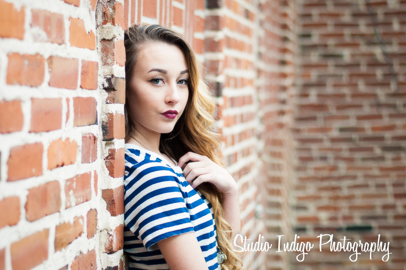 High School Senior Portraits Madison – Gaby