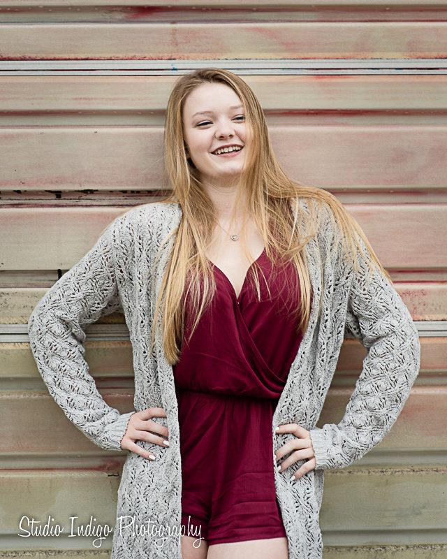 Sometimes natural smiles last for just an instant.  During Senior picture shoots one of our goals is to make sure we capture some of those genuine, natural moments. Another goal is to make sure our seniors feel confident, look great and feel great.