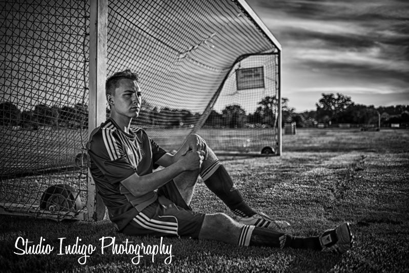<p>Soccer Senior Portrait in Verona – Alex</p>