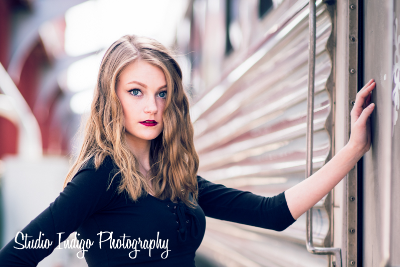 <p>Model Senior Portrait Photoshoot – Madison: Studio Indigo Photography</p>