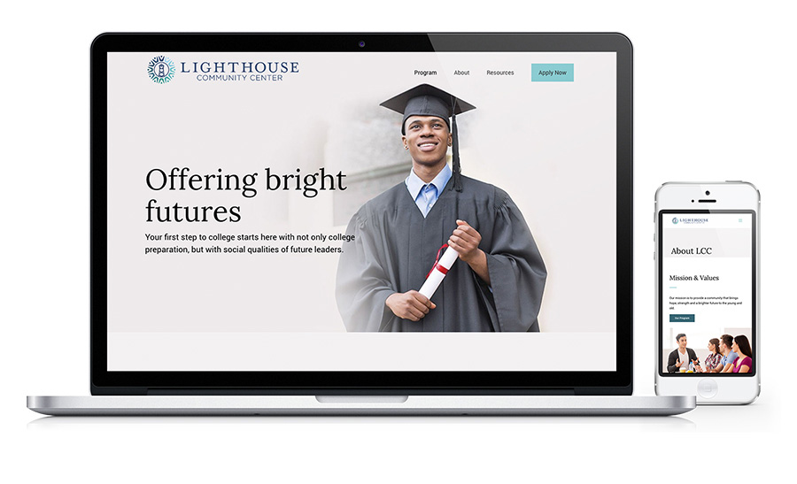 Lighthouse Community - After school Program Website