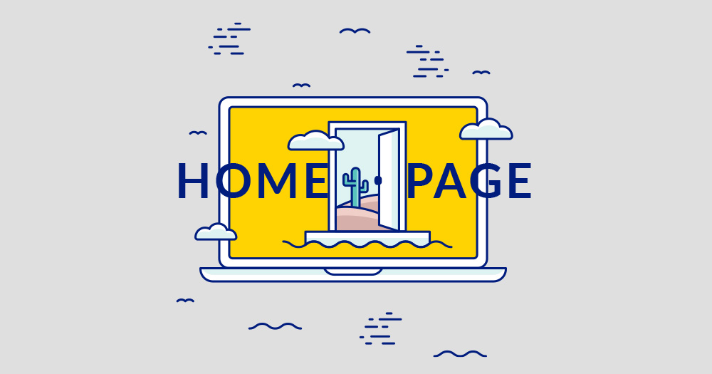 the perfect and effective homepage