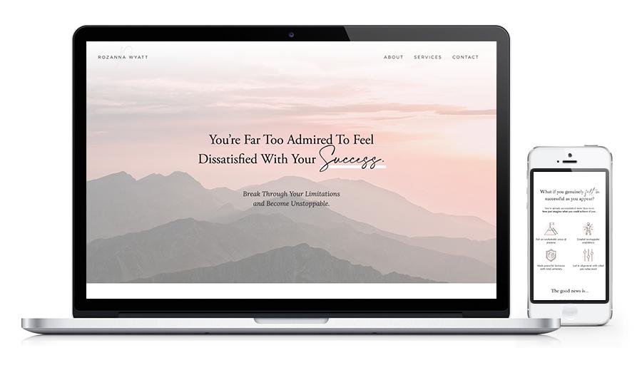 Rozanna Wyatt Website