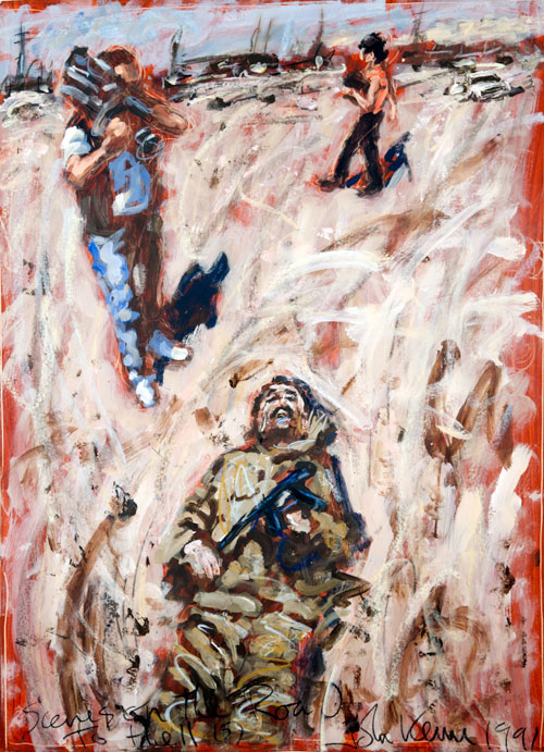John Keane Interview 'Art Shouldn't Be Sensationalist
