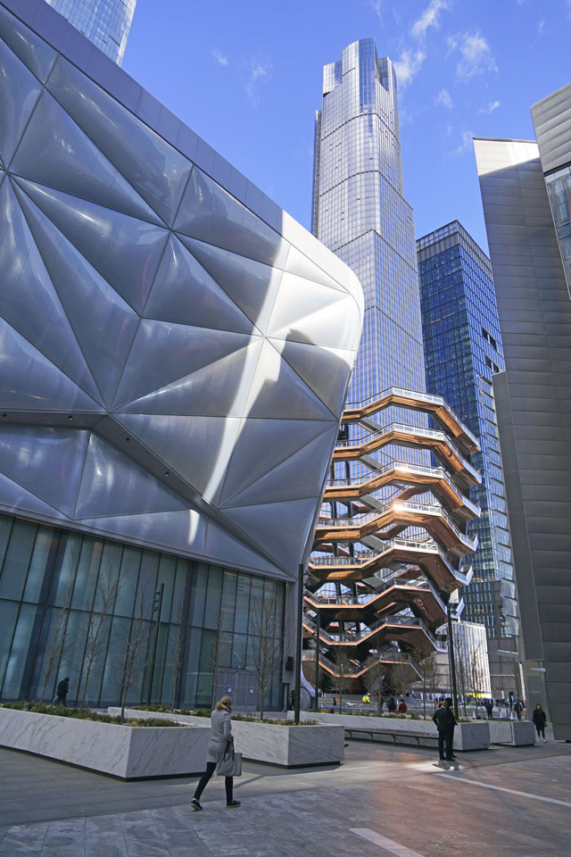 Biosphere  The Shed at Hudson Yards opens