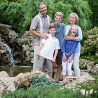 Peace Garden Family Session