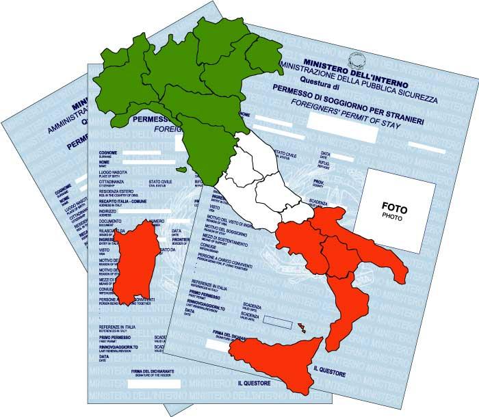 ITALIAN PERMIT TO STAY Permesso di soggiorno  Studio Legale Metta