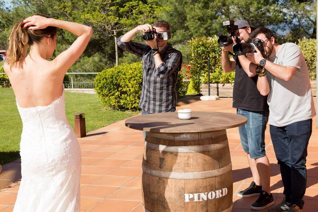 BP2, contrato para reportajes de bodas