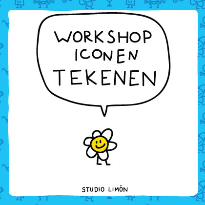 workshop iconen tekenen