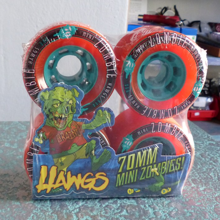 HAWGS Mini Zombies 70mm