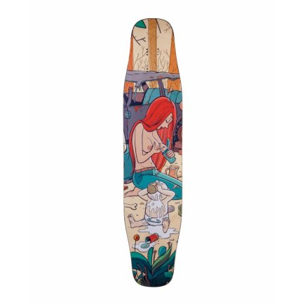 "Alternative Longboards Flamingo Sidewall ""Junkyard"""