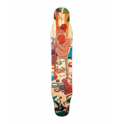 "Alternative Longboards Karoo Sidewall ""Junkyard"""