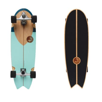 "Slide Surfskateboard Swallow 33"" Noserider"