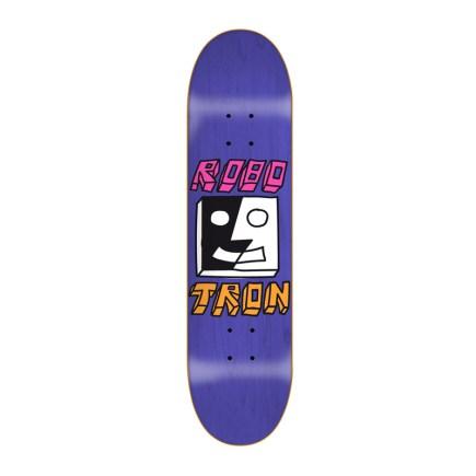 ROBOTRON Split Face Purple 8.3 Skateboard-Deck