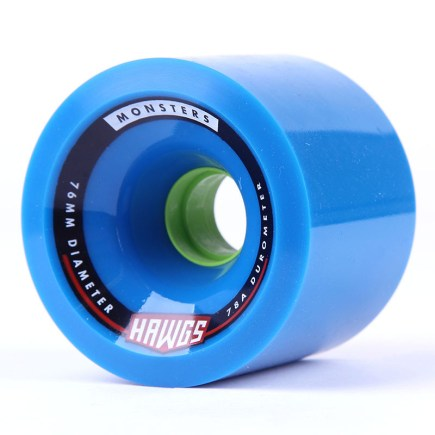 HAWGS Monsters 76mm 78a blue