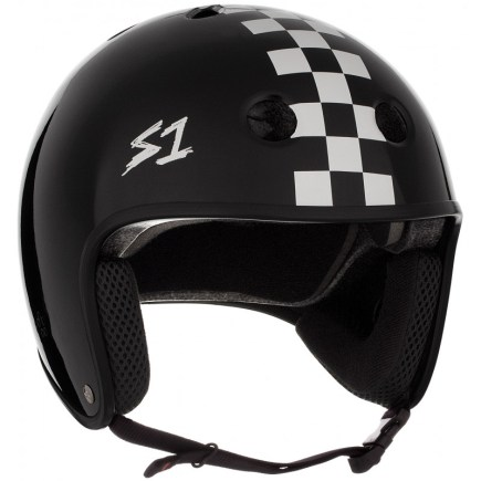 S-ONE Retro Lifer Helmet Checkers
