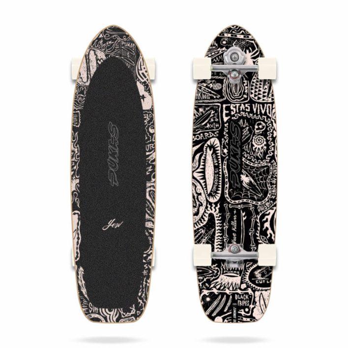YOW Surfskate Pukas Dark 34.5″