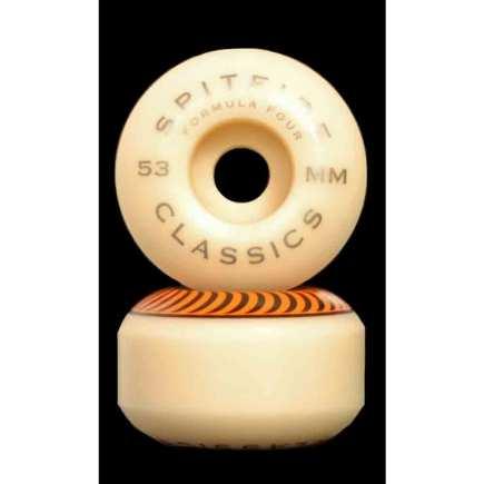 SPITFIRE F4 Classic Orange 53mm 99A Skateboard Wheels