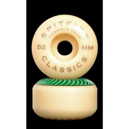 SPITFIRE F4 Classic Green 52mm 99A Skateboard Wheels