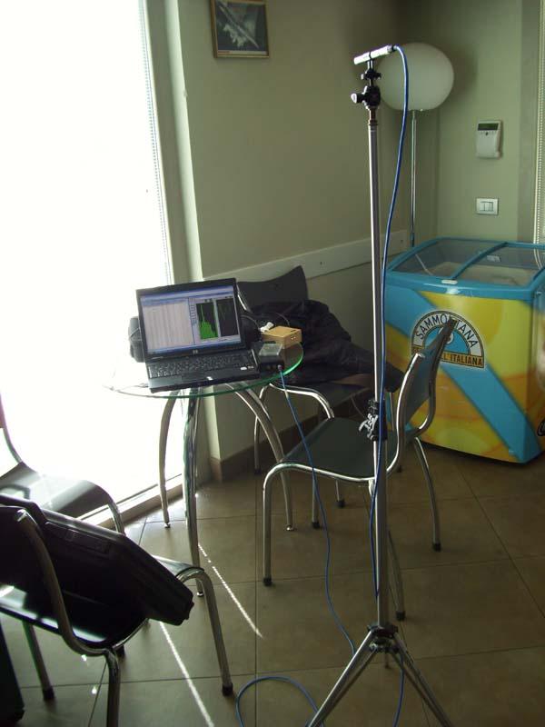 Misure acustiche in ambiente lavorativo