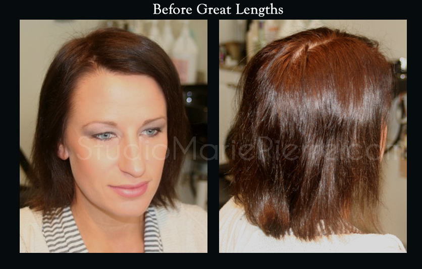 Great Lengths Hair Extensions Before After Photos Studio Marie