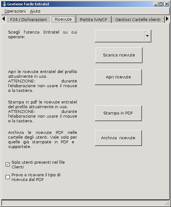 SCARICA CU DA CASSETTO FISCALE