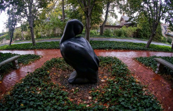 """Labrador Duck"" by Todd McGrain - View # 3"
