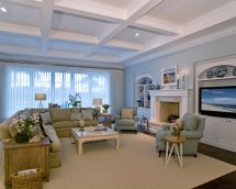 Coastal Transitional Cottage - Studio Interior Design