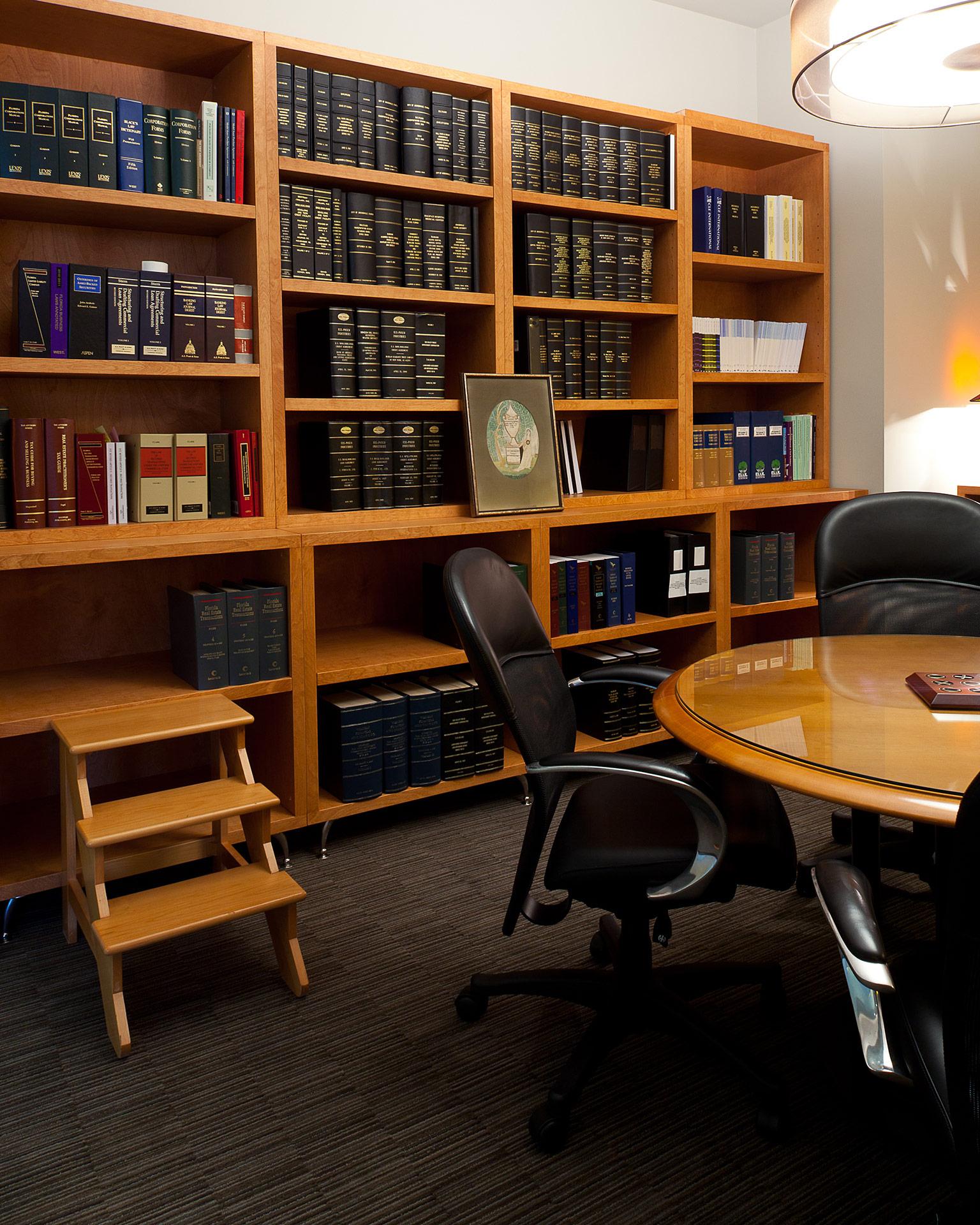 Modern Law Office  Studio M Interior Design