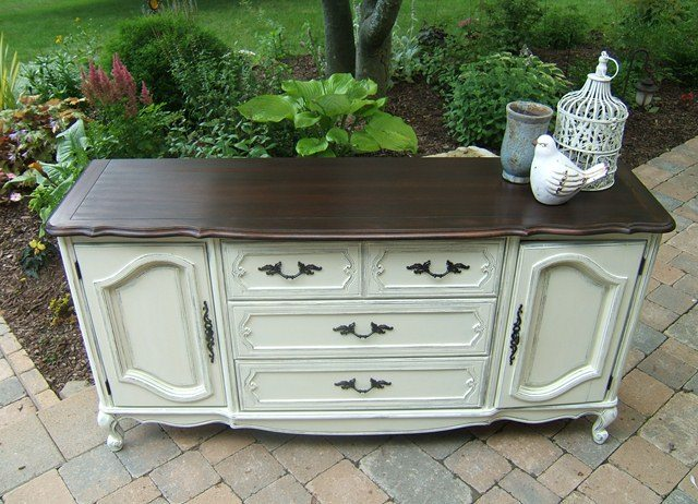 "French Provincial Long Dresser ""Norfolk"""