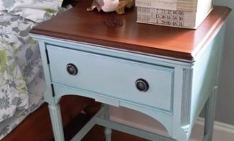 "Vintage Sewing Cabinet ""Barron"""
