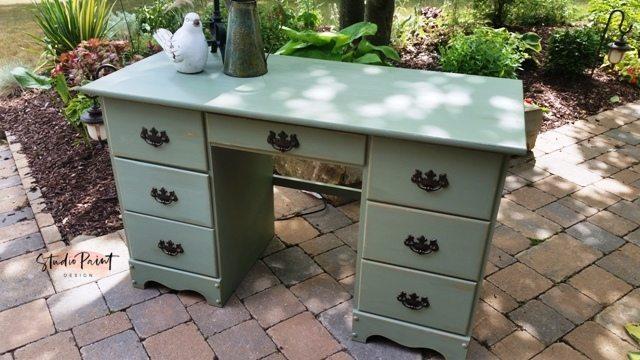 Painted Maple Desk Aspen
