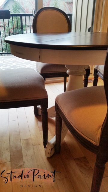 french provincial maple table