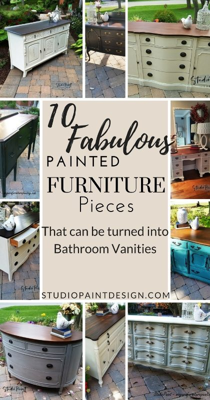 10 Fabulous Painted Furniture Pieces