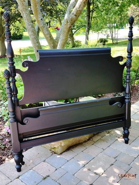 Classic Duncan Phyfe Bed Frame