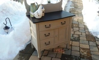 Painted Antique Washstand for Carol